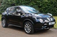 2016 NISSAN JUKE 1.6 TEKNA XTRONIC 5d AUTO 117 BHP £11295.00
