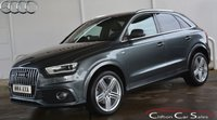 2014 AUDI Q3 2.0TDi QUATTRO S-LINE PLUS 5 DOOR 6-SPEED 140 BHP £18990.00