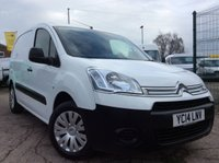 2014 CITROEN BERLINGO 1.6 625 ENTERPRISE L1 HDI 74 BHP 1 OWNER FSH NEW MOT 3 SEATS £6850.00
