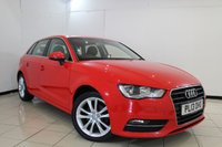 USED 2013 13 AUDI A3 2.0 TDI SE 5DR 148 BHP SERVICE HISTORY + SAT NAVIGATION + BLUETOOTH + MULTI FUNCTION WHEEL + DAB RADIO + 16 INCH ALLOY WHEELS