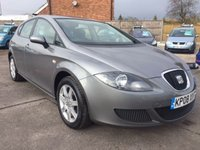 USED 2008 08 SEAT LEON 1.6 REFERENCE 5d 101 BHP