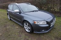 USED 2011 11 VOLVO V50 1.6 D2 R-DESIGN EDITION 5d 113 BHP 2 OWNERS-HISTORY-BTOOTH 2 Owners, Service History, Leather R-Design Seats