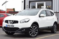 USED 2012 12 NISSAN QASHQAI+2 1.6 PLUS 2 N-TEC PLUS IS DCIS/S 5d 130 BHP FULL DEALER SERVICE HISTORY, 7 SEATER VERSION, LOVELY AMOUNT OF FEATURES
