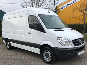 2013 MERCEDES-BENZ SPRINTER 2.1TD 313CDI MWB HIGH ROOF VAN RWD £10950.00