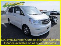 2002 TOYOTA ALPHARD 3.0 Auto 4WD MZ Edition 8 Seats, Power Slide Door  £7000.00