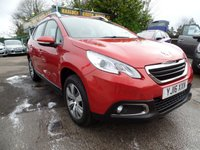 2016 PEUGEOT 2008 1.2 PURE TECH ACTIVE 5d 82 BHP £10499.00
