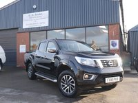 USED 2018 NISSAN NAVARA Pick Up Double Cab  VEHICLE SOURCED BY C H RENDER