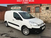 USED 2015 15 CITROEN BERLINGO 1.6 625 LX L1 HDI 1d 74 BHP Only 43,000 Miles, 3 Seat, Storage Shelving, Roof Amber Light, Low Mileage, Finance In 60 Seconds.