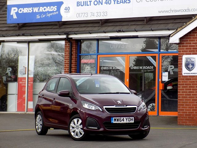 USED 2014 64 PEUGEOT 108 1.0 ACTIVE 5dr AUTO ** 1 Lady Owner From New **