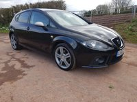 USED 2006 56 SEAT LEON 2.0 FR TDI 5d 168 BHP **SUPERB DRIVE**GREAT CONDITION**12 STAMPS**