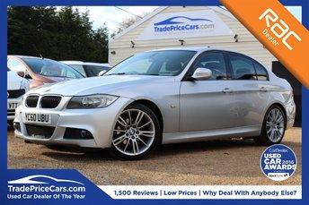 2010 BMW 3 SERIES 2.0 318D M SPORT 4d 141 BHP £5950.00