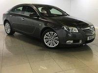 USED 2011 61 VAUXHALL INSIGNIA 2.0 ELITE CDTI 5d AUTO 157 BHP Sat Nav/Black Leather