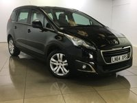 USED 2014 64 PEUGEOT 5008 1.6 E-HDI ACTIVE 5d AUTO 115 BHP 1 Owner/Great Family Car