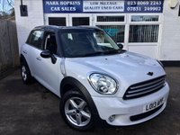 USED 2013 13 MINI COUNTRYMAN 1.6 COOPER 5d 122 BHP 27K FSH 1OWNER 6SPD 1/2 LEATHER  DAB  R/PARK SENSORS EXCELLENT CONDITION