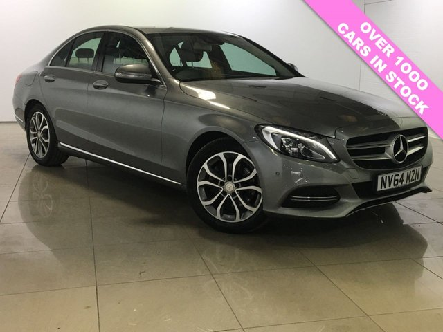 View our 2015 64 MERCEDES-BENZ C CLASS 2.1 C220 BLUETEC SPORT 4d 170 BHP
