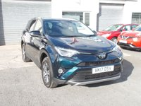 USED 2017 17 TOYOTA RAV4 2.0 D-4D BUSINESS EDITION TSS 5d 143 BHP