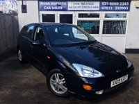 USED 2000 X FORD FOCUS 1.8 COLLECTION 16V 5d 114 BHP
