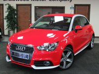USED 2012 62 AUDI A1 2.0 TDI CONTRAST EDITION 3d 143 BHP