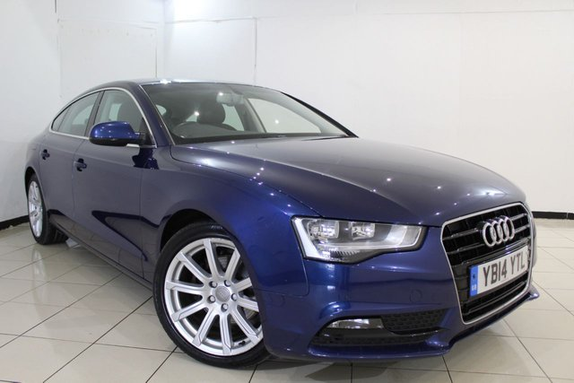 View our 2014 14 AUDI A5 2.0 SPORTBACK TDI SE TECHNIK 5DR AUTOMATIC 174 BHP