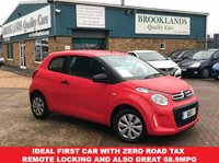 2014 CITROEN C1 1.0 TOUCH 3 Door 68 BHP 1 Owner Zero Road Tax £4695.00