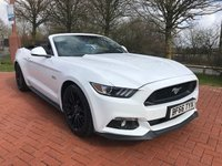 2016 FORD MUSTANG 5.0 GT 2d AUTO 410 BHP £34990.00