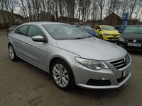 2011 VOLKSWAGEN PASSAT 2.0 CC TDI BLUEMOTION TECHNOLOGY 4d 139 BHP £7995.00