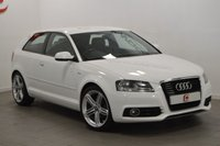 USED 2010 60 AUDI A3 1.6 TDI S LINE 3d 103 BHP LOW MILES + SERVICE HISTORY + HALF LEATHER + 60+MPG
