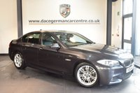 USED 2011 61 BMW 5 SERIES 3.0 530D M SPORT 4DR AUTO 242 BHP + FULL LEATHER INTERIOR +PRO SAT NAV + SEATS + PARKING DISTANCE CONTROL + XENON LIGHTS + M SPORT PACKAGE + 18 INCH ALLOY WHEELS +