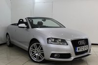 USED 2012 12 AUDI A3 1.6 TDI S LINE 2DR 103 BHP FULL SERVICE HISTORY + HALF LEATHER SEATS + PARKING SENSOR + CRUISE CONTROL + MULTI FUNCTION WHEEL + CLIMATE CONTROL + 17 INCH ALLOY WHEELS