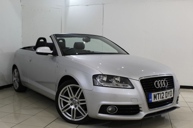 View our 2012 12 AUDI A3 1.6 TDI S LINE 2DR 103 BHP