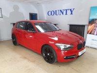 2012 BMW 1 SERIES 1.6 116I SPORT 5d 135 BHP £8995.00