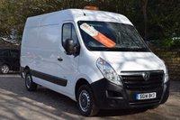 2014 VAUXHALL MOVANO 2.3 F3300 L2H2 CDTI  98 BHP £6950.00