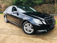 2012 MERCEDES-BENZ E CLASS 2.1 E250 CDI BLUEEFFICIENCY AVANTGARDE 4d AUTO 204 BHP £10500.00