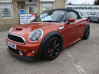 2012 MINI ROADSTER 1.6 COOPER S 2DR CONVERTIBLE ( CHILI PACK ) £8989.00