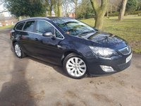 2012 VAUXHALL ASTRA 1.7 SE CDTI ECOFLEX S/S 5d 130 BHP AIR CON 6 SPEED HALF LEATHER  £4450.00