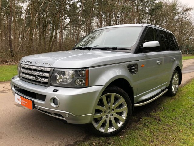 USED 2007 56 LAND ROVER RANGE ROVER SPORT 3.6 TDV8 SPORT HSE 5d AUTO 269 BHP SAT NAV TV'S/DVDS FRONT AND REAR , HEATED SEATS FRONT AND REAR F/S/H