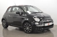 USED 2012 12 FIAT 500 1.2 LOUNGE 3d 69 BHP NEW 16 INCH ALLOYS + LOW MILES + SERVICE HISTORY + CHEAP INSURANCE