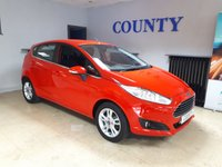 USED 2014 64 FORD FIESTA 1.2 ZETEC 5d 81 BHP * ONE OWNER * FULL HISTORY *