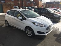 USED 2015 15 FORD FIESTA 1.2 STYLE 5d 59 BHP NEW FACELIFT STYLE MODEL WITH AIR CONDITIONING!!..EXCELLENT FUEL ECONOMY!..LOW CO2 EMISSIONS(120G/KM)..£30 ROAD TAX!..FULL HISTORY..ONLY 15616 MILES FROM NEW!!