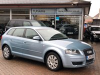 USED 2005 05 AUDI A3 1.6 SPECIAL EDITION 16V 5d 101 BHP Free MOT for Life