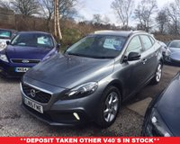 2015 VOLVO V40 1.6 D2 CROSS COUNTRY LUX  5d 113 BHP £12489.00