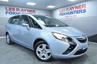 USED 2014 14 VAUXHALL ZAFIRA TOURER 1.8 EXCLUSIV 5d 138 BHP DAB Radio, Cruise control, Front and rear park sensors, Air con