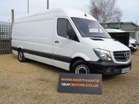 2016 MERCEDES-BENZ SPRINTER HIGH ROOF VAN 2.1 314CDI 5d 140 BHP £17990.00