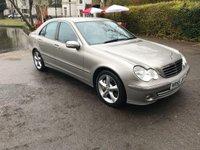 2005 MERCEDES-BENZ C CLASS 2.1 C220 CDI AVANTGARDE SE 4d AUTO 148 BHP £2595.00