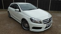 USED 2014 14 MERCEDES-BENZ A CLASS 1.8 A200 CDI BLUEEFFICIENCY AMG SPORT 5dr B/tooth, Leather, Cruise