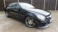 USED 2013 63 MERCEDES-BENZ E CLASS 2.1 E250 CDI AMG SPORT 2dr AUTO Sat Nav, Leather, STUNNING
