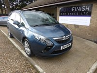 USED 2014 14 VAUXHALL ZAFIRA TOURER 2.0 EXCLUSIV CDTI 5d 128 BHP GREAT CONDITION INSIDE AND OUT