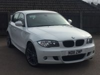 2011 BMW 1 SERIES 2.0 118D PERFORMANCE EDITION 5d 141 BHP £8995.00