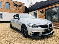 2015 BMW 4 SERIES 3.0 430D M SPORT 2d AUTO 255 BHP £23490.00
