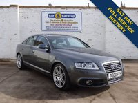 USED 2010 60 AUDI A6 2.0 TDI S LINE SPECIAL EDITION 4d 168 BHP Full Service History SAT-NAV 0% Deposit Finance Available